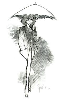 chris bachalo rough pencils | Bachalo Sketch 6