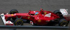 Fernando Alonso & Ferrari in the Circuit de Catalunya (2012)
