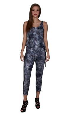f8171f2ece9 Cokar Womens Plus Size Jumpsuits Long Sleeve V-neck Casual Style Set ...