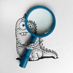 Adorable Illustrated Characters Playfully Interact With Real Life Objects - DesignTAXI.com