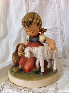 Hummel figurine  Favorite Pet  TMK  4 by HighBluffFarm on Etsy, $150.00