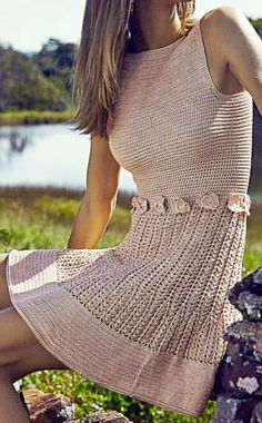 Crochet A Skirt Pattern to Irish Crochet Wedding Dress Pattern Free all Dress Fashion House Crochet Skirts, Crochet Lace Dress, Crochet Blouse, Crochet Clothes, Knit Dress, Mode Crochet, Diy Crochet, Hand Crochet, Crochet Top
