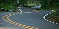 No more trucks! Tail of the Dragon, America's best drive, just got better #travel #roadtrips #roadtrippers