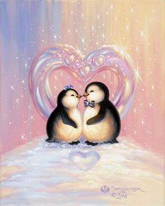 Kiss Penguins Diamond Painting Kits - PigPigBoss Full Diamond Painting Kits for Adults - Cute Kiss Love Penguins Diamond Embroidery Cross Stitch Art Decor Gift x inches) Penguin Art, Penguin Love, Cute Penguins, Painting Snow, Diy Painting, Pinguin Tattoo, Diamond Drawing, Cross Crafts, Cross Paintings