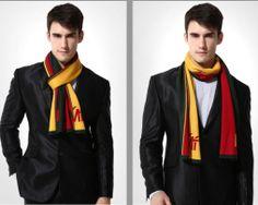 Kvalitný pánsky bavlnený šál - Vzor 02