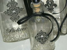 Wayside Treasures: New Altered Bottles ~