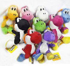 Lot-9-Super-Mario-Bros-Running-Yoshi-7-Plush-Toy