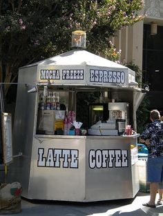 Coffee Stand.....I wish this coffee stand was in my town or better yet in my neighborhood!