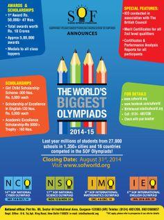 Science Olympiad Foundation (SOF) | Asia's Biggest Olympiads