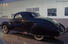 '41 Lincoln Zephyr Three Passenger Coupe_Shanghai Auto Museum