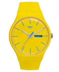 Swatch Watch.. every time I wear this, I'd want to eat lemonheads! (-: