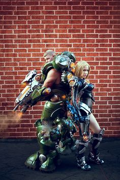 Firefall cosplay - Mourningstar and Typhon II by *crystalcosfx on deviantART. Amazing!