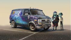 Desarrollo visual: El Arte de Onward ❤️ Diseño de Personajes y Concept Art Chinese New Year Poster, Chinese Posters, New Years Poster, Pixar, Beloved Film, 3d Poster, Disney Wiki, Monster University, Japanese Poster