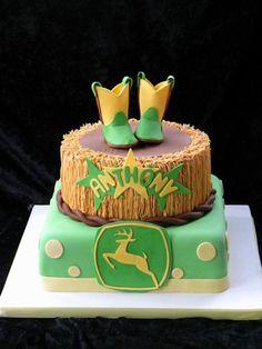 Faithy Cakes - John Deere cake