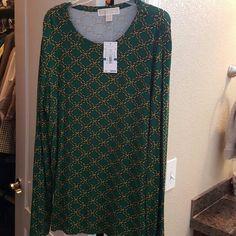 MK top / shirt XL Long sleeve but thin enough to wear in spring. KORS Michael Kors Tops Tees - Long Sleeve