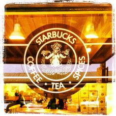 First Starbucks store ever!