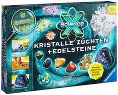 Ravensburger 18883 - ScienceX: Kristalle züchten und Edelsteine: AmazonSmile: Spielzeug