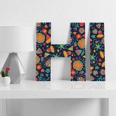 Arcturus Bloom Decorative Letters