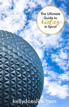 Are you planning your Walt Disney World vacation and need help learning about the rides and attractions? Here is the complete guide to Epcot rides! Walt Disney World Rides, Disney World Vacation Planning, Disney World Food, Disney World Florida, Disney World Parks, Disney Planning, Disney World Resorts, Disney Vacations, Disney Trips