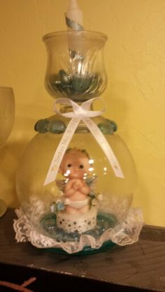 baptismal centerpiece