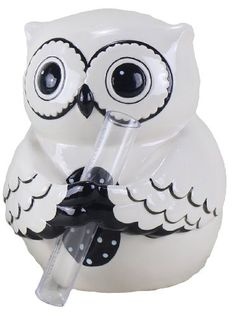 Youngs Ceramic Owl Buddy Bud Vase 6Inch >>> Read more home decor at the image link.