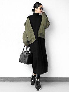 Pin by Myrna Rivera on Outfits 70s Fashion, Fashion Wear, Modest Fashion, Look Fashion, Skirt Fashion, Daily Fashion, Hijab Fashion, Korean Fashion, Winter Fashion