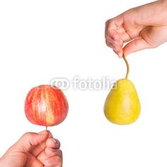 Compare apples with oranges Apples, Pear, Fruit, Pears, The Fruit, Bulb, Apple