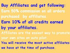 Buy Affiliates at www.FollowersLikeHits.Com and get following: Earn 50% commission on all orders purchased by affiliates. Earn 10% of all credits earned by your affiliates. Affiliates are the easiest way to promote your own sites on auto pilot. You will receive the most active affiliates we have at the time of purchase. Free Followers, Online Business, Pilot, Marble, Places To Visit, How To Get, Ads, House, Stuff To Buy