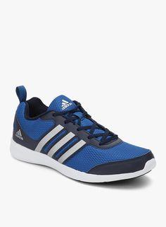Adidas Yking Navy Blue Running Shoes   #Adidas, #Navyblue, #Runningshoes