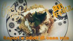Ricetta veloce Risotto ai carciofi e crema di parmigiano guardate questa e altre video ricette sul nostro canale YouTube sapori e odori di casa mia