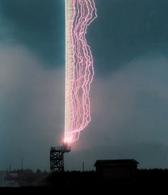 Good job, Mr. lightning rod!