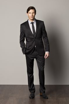 Men's Black Suit
