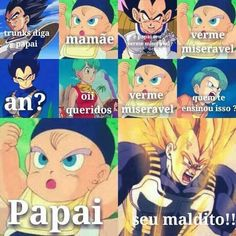 O Vegeta se ferrou! Anime Meme, Otaku Meme, Top Memes, Best Memes, All Anime, Anime Manga, Nerd, Geek Humor, Dragon Ball Gt