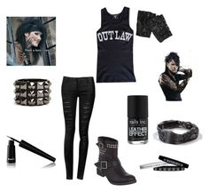 """""""Celebrity Day!"""" by bvb-bekka ❤ liked on Polyvore featuring INC International Concepts, Lipstik, Noir Cosmetics, Full Tilt and Nails Inc."""