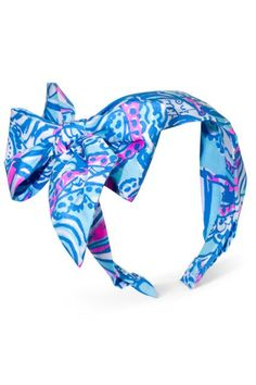 Lilly Pulitzer for Target Girls  Bow Headband - My Fans 5dbec25235b6