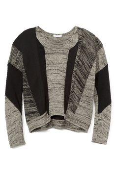 Blocked Melange Knit Pullover by Helmut Lang for Preorder on Moda Operandi