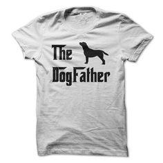 The DogFather For Dog Loving Daddies (on Black) T-Shirt Hoodie Sweatshirts oau