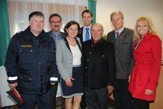 Eröffnung der neuen Räumlichkeiten der Polizeiinspektion Straßburg mit Innenministerin Johanna Mikl-Leitner