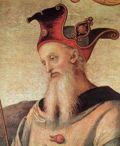 Ornamentation of the Collegio del Cambio in Perugia