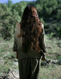 Kurdish woman hero
