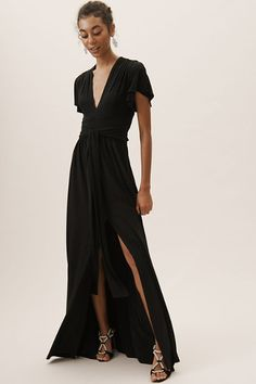 Black Mendoza Dress