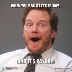 It's ‪#‎PaydayFriday‬ again! *Insert happy dance* ‪#‎TGIF‬ ‪#‎Friday‬ ‪#‎Money‬ ‪#‎Sahod‬ ‪#‎Sweldo‬