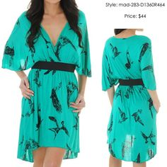 Put a bird on it! Except I kinda love this dress... #dress #clothes #generaleccentric
