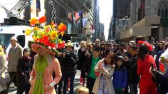 at Easter parade, New York City