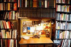 The Selby - Jamie Isaia: ...with overflowing bookshelves...