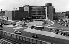 "Television Centre opened on 29 June 1960 and the director of BBC Television, Gerald Beadle, said the complex would be ""immensely important"" to British prestige and trade. Vintage London, Old London, West London, Shepherd's Bush London, British Broadcasting Corporation, Shepherds Bush, London Architecture, London History, White City"