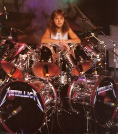 Lars Ulrich (born December 26, 1963) is a Danish-American drummer, and one of the founding members of the American heavy metal band Metallica. Description from pinterest.com. I searched for this on bing.com/images