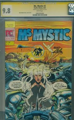 Ms. Mystic #2 CGC SS 9.8 Signed by Neal Adams