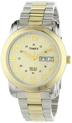 Timex Men's T2N439 Elevated Classics Two-Tone Bracelet Casual Watch - http://www.specialdaysgift.com/timex-mens-t2n439-elevated-classics-two-tone-bracelet-casual-watch/
