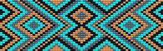 "Set of 3 ""Eye Dazzler"" Motif Patterns for Loom Beadwork #heartbeadwork #loombeading"